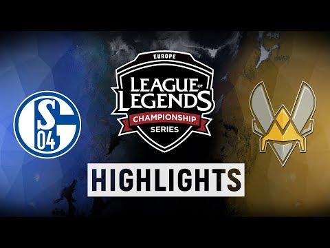 S04 vs. VIT - EU LCS Week 9 Day 3 Tiebreakers Highlights (Summer 2018)