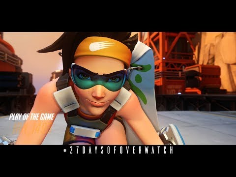 27 Days of Overwatch: Tracer