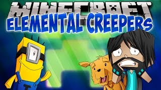 Minecraft Mods: Think's Lab Kevin's Creepers Elemental