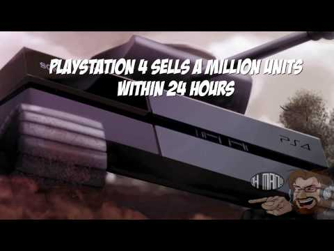 Playstation 4 sells a million units within 24 hours