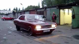 68 Opel Rekord C Coupe - First run
