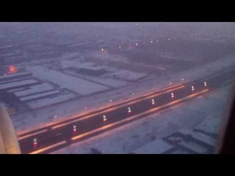 Smoothest landing and approach Boeing 757 China Southern Airlines at Urumqi