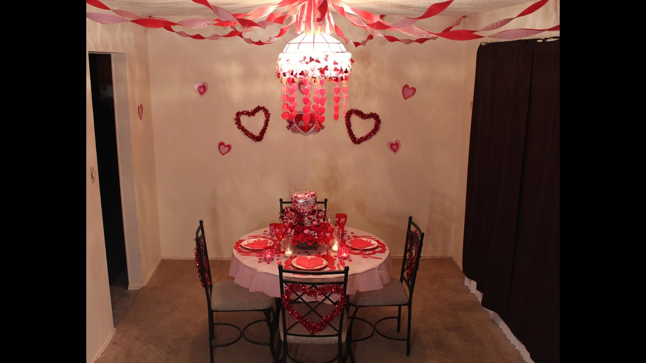 Valentines Day Party 2014 Using Dollar Tree Items Youtube