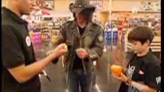 Criss Angel Magic Trick With Food