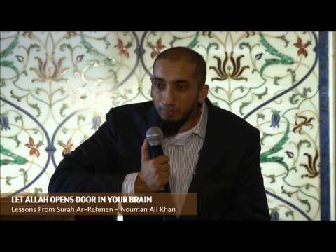 divine speech nouman ali khan pdf