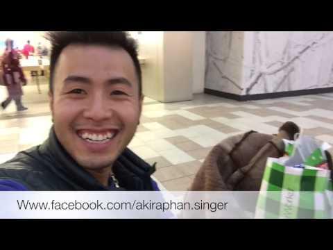 Akira đi shopping ở Toronto Canada để về làm quà cho người thân và a chị e kết nghĩa 11/2014