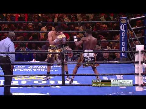 FULL FIGHT: Broner vs Molina Jr. - 3/7/15 - PBC on NBC