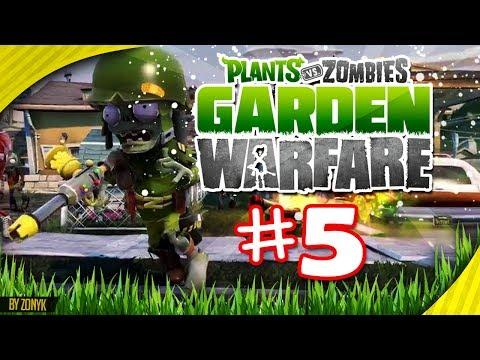 ¡PARTIDA ÈPICA! (Jardines y Cementerios) Let's Play #5 - Plantas vs Zombies Garden Warfare (Español)