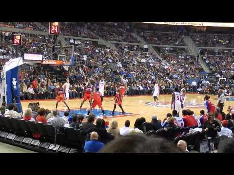 Washington Wizards vs. Detroit Pistons: Josh Smith For 3