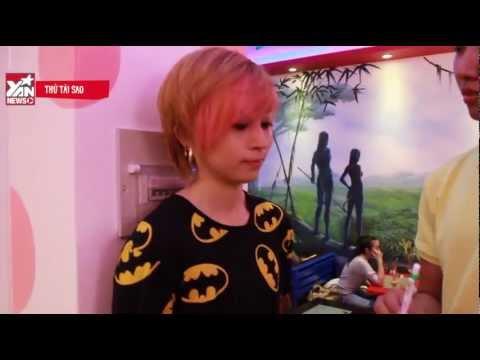 130401 [Thử tài sao] Gil Lê chuyên nghiệp trong vai trò phục vụ quán trà sữa - YAN News
