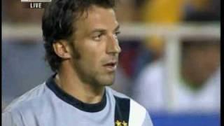 31/07/2009 - Peace Cup, semifinale - Juventus-Real Madrid 2-1