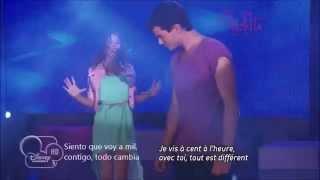 Violetta'Yo Soy Asi' Letra Y Francés Letra/ Paroles