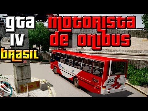 GTA IV: Parecendo Brasil, ônibus urbano pela cidade