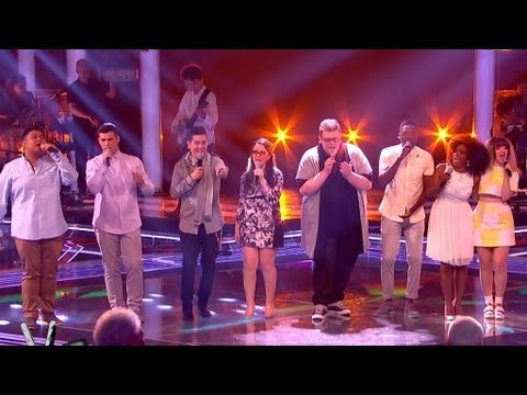 The Voice UK 2013 | The Semi Finalists perform 'I Will Wait' - The Live Semi-Finals - BBC One