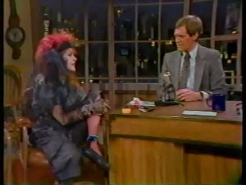 Cyndi Lauper on Late Night with David Letterman (1984)