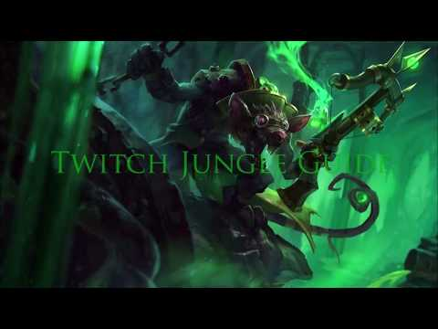 Twitch Jungle Season 7 Guide and Build League Of Legends 2017