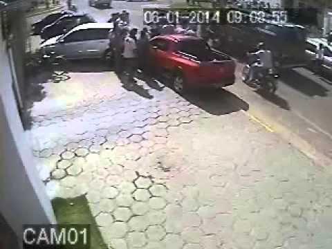 Tentativa de assalto - Empresário de Vilhena/RO