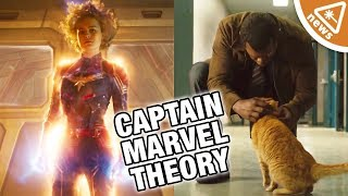Why A New Theory about Captain Marvel's Cat and Nick Fury Is Amazing (Nerdist News w/ Amy Vorpahl)