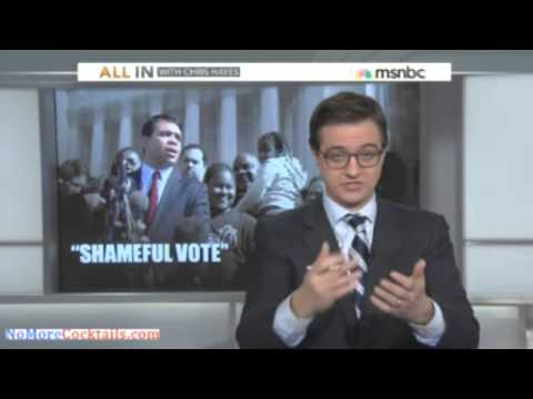MSNBC's Chris Hayes admits that Lib Media has deliberately ignored nomination of Debo Adegbile
