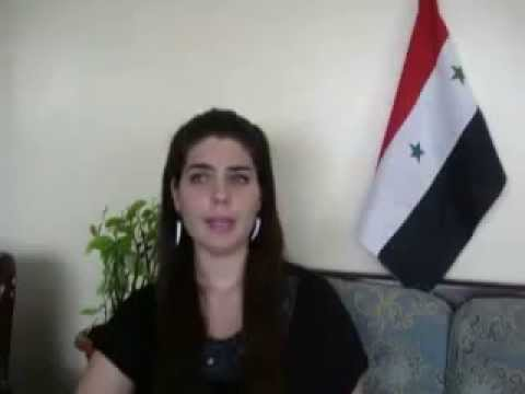 A Message From a Syrian Citizen Aliaa Mahfouz Ali  6th September 2013