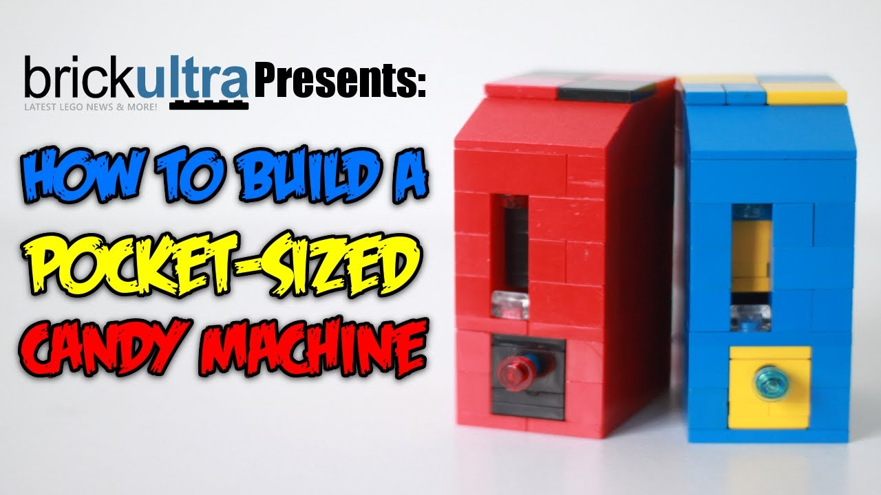 How To Build A Mini Lego Candy Machine Pocket Sized Youtube