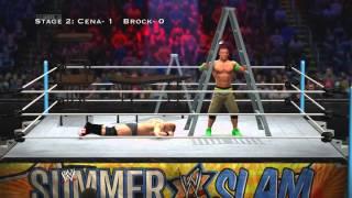 WWE 2K14: John Cena Vs Brock Lesnar (TLC: 3 Stages Of Hell