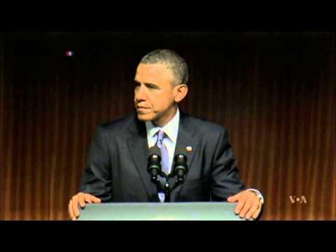 Obama Praises Predecessor Lyndon Johnson's Civil Rights Legacy