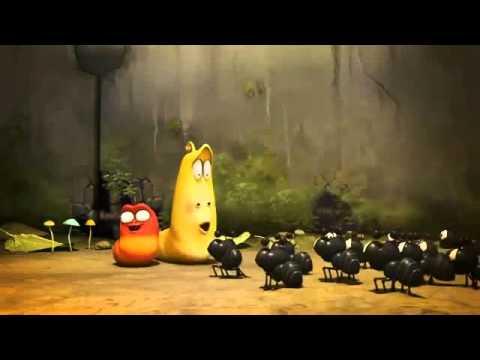 Hoạt hình Larva Đụng độ bầy kiến lửa.mp4