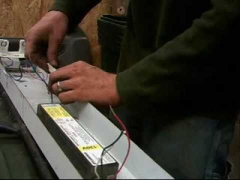 How/how To Replace The Ballast In A Fluorescent Lighting Fixture.html