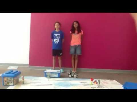 Aaliyah lego robotics presentation