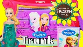 Frozen Fever Giant SURPRISE TRUNK Disney Elsa Anna New