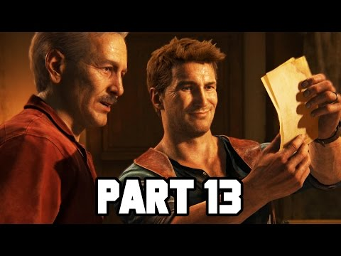 Uncharted 4 Gameplay Walkthrough Part 13 - Pirate Puzzle - Chapter 11 (PS4 Gameplay 1080p HD)