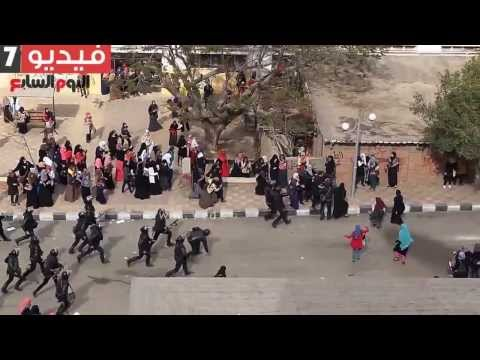 Egypt's police use excessive force against unarmed women in Al-Azhar