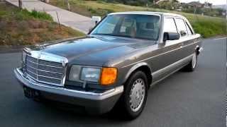 1986 Mercedes Benz 560SEL W126 Big Body 86 560 SEL