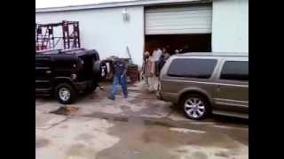 Hummer H2 VS Excursion- Turbo Diesel