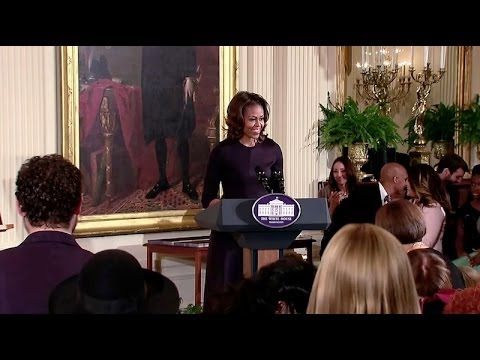 The First Lady Honors National Arts and Humanities Youth Program Award Winners