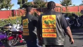 "Fresno CA ""Buffalo Soldier halfway Fresno ride"