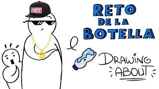 EL RETO DE LA BOTELLA   Drawing About