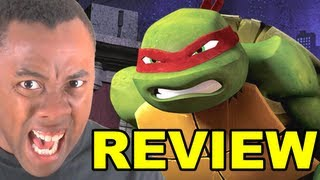 TEENAGE MUTANT NINJA TURTLES 2012 REVIEW (Nickelodeon