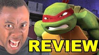 TEENAGE MUTANT NINJA TURTLES 2012 REVIEW (Nickelodeon
