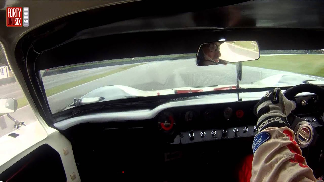 Goodwood Revival 2013: Kenny Brack in the wild Ford GT40 Video Thumbnail
