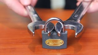 How To Open A Lock With A Nut Wrench