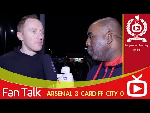 Arsenal FC 3 Cardiff City 0 -