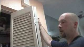 How To Install A Bi-Fold Door : Installing A Bi-Fold Door