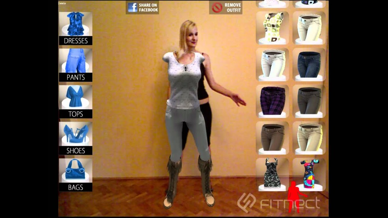 Fitnect - Interactive Virtual Fitting / Dressing Room application ...
