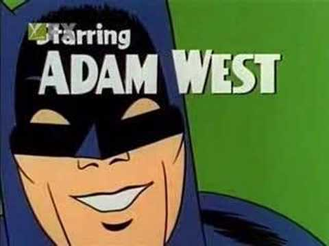 Batman intro (1966), This is the intro for the old campy Batman tv-series. With Burd Ward and Adam West.BATMAN ROCKS...