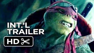 Teenage Mutant Ninja Turtles Official International Trailer #1 (2014) - Whoopi Goldberg Movie HD