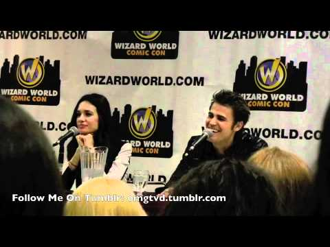 Paul Wesley and Torrey DeVitto Q&A Panel - Toronto Comic Con April 14 Wizard World Comic Con
