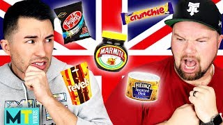 Americans Try Weird British Food for the First Time