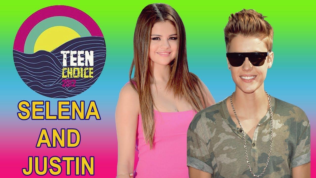 Selena gomez and justin bieber teen choice awards 2012